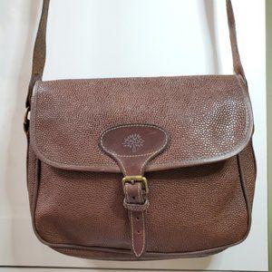 Mulberry vintage scotchgrain leather crossbody bag